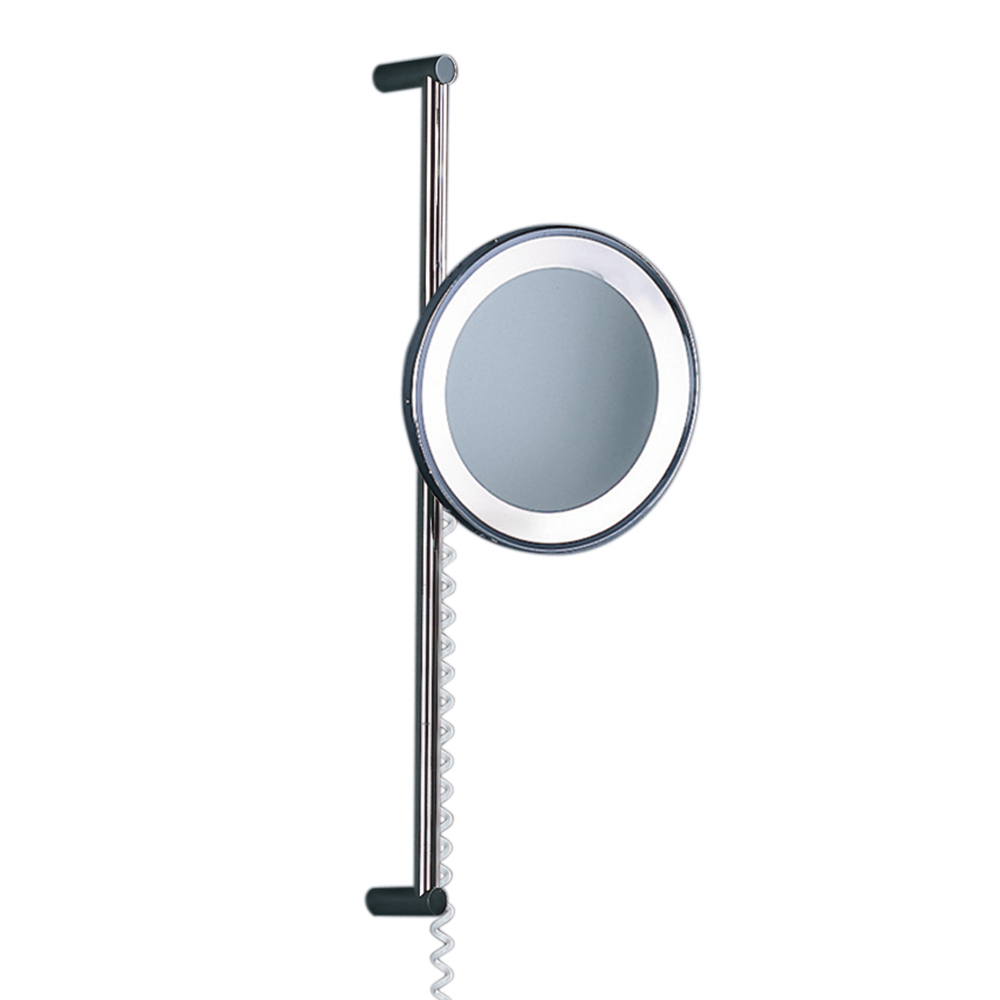 Nicholas Engert Interiors | Bathroom Adjustable Mirror Light-Chrome