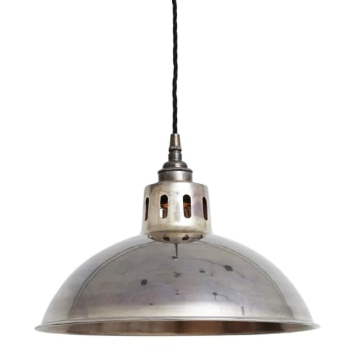Paris Pendant Lamp-Mullan-Antique Silver