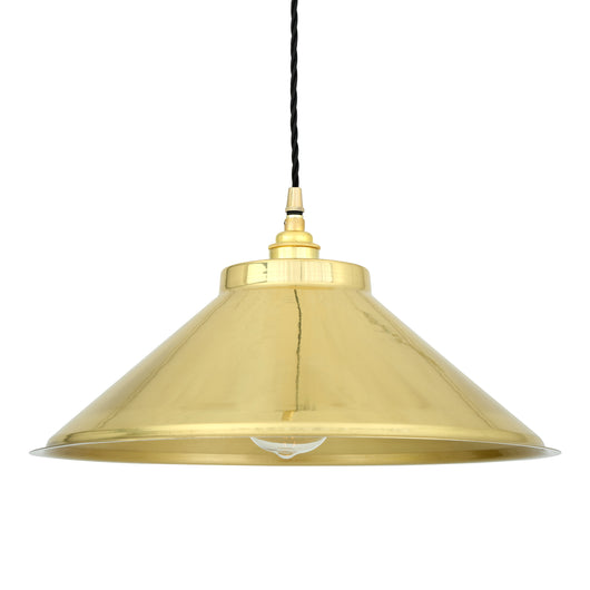 Rio Pendant Lamp-Polished Brass | Nicholas Engert