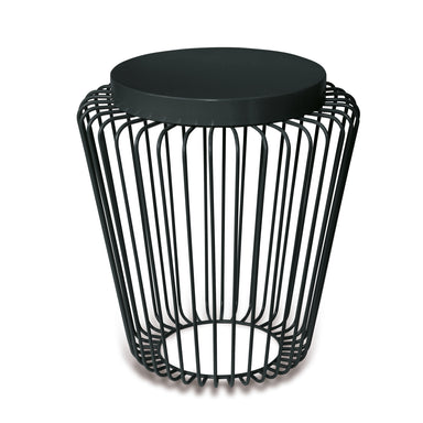 Cage Cordless Floor Light - Black | Nicholas Engert Interiors