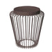 Cage Cordless Floor Light - Brown | Nicholas Engert Interiors