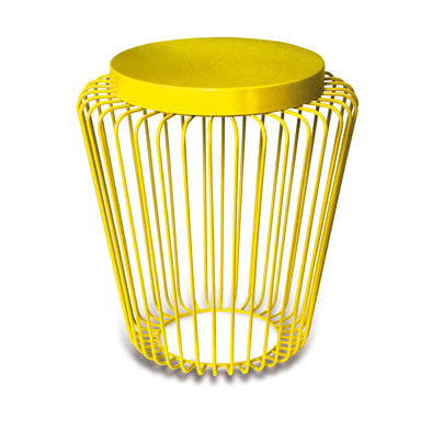 Cage Cordless Floor Light - Yellow | Nicholas Engert Interiors