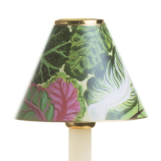 Candle Shade-Printed Card-Cabbage Leaves | Nicholas Engert Interiors