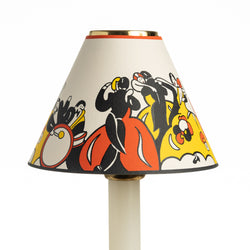 Candle Shade-Printed Card-Crocodile-Clarice Cliff | Nicholas Engert Interiors