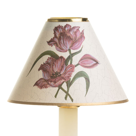 Candle Shade-Printed Card-Parrot Tulips | Nicholas Engert Interiors