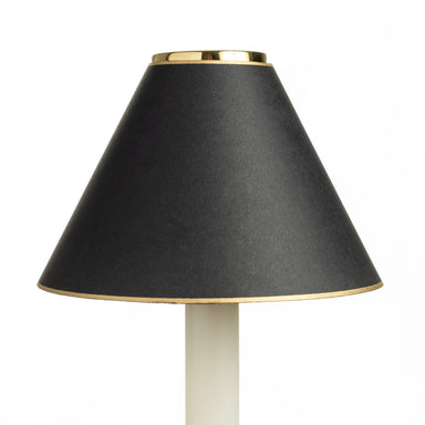 Candle Shade - Plain Card - Black | Nicholas Engert Interiors