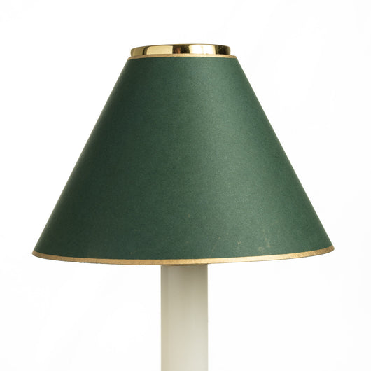 Candle Shade - Plain Card - Green | Nicholas Engert Interiors