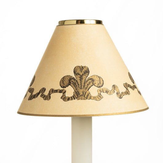 Candle Shade - Three Feathers | Nicholas Engert Interiors