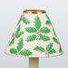 Decorative Candle Shade-Printed Card-Holly & Berry Design | Nicholas Engert