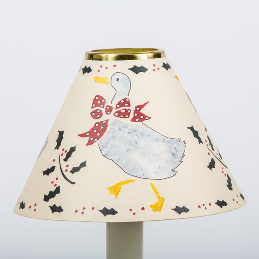 Decorative Candle Shade-Printed Card-Christmas Goose | Nicholas Engert
