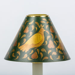 Decorative Candle Shade-Printed Card-Partridge Green | Nicholas Engert