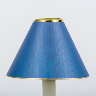 Candle Shade Painted Ragged Card-Blue | Nicholas Engert