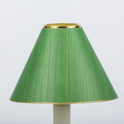 Candle Shade Painted Ragged Card-Green | Nicholas Engert