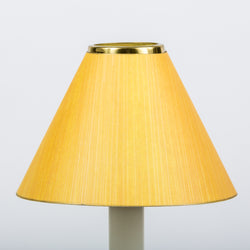 Candle Shade Painted Ragged Card-Yellow | Nicholas Engert