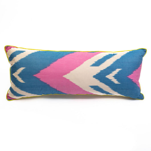 Candy Ikat Cushion | Nicholas Engert Interiors
