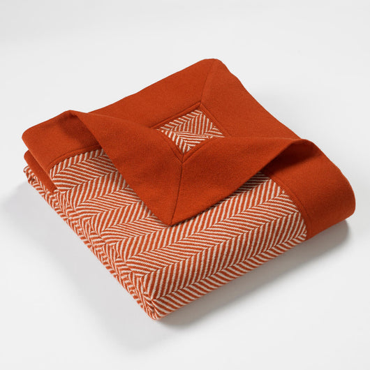 Cortland Blended Cashmere Twill Throw-Squirrel | Nicholas Engert