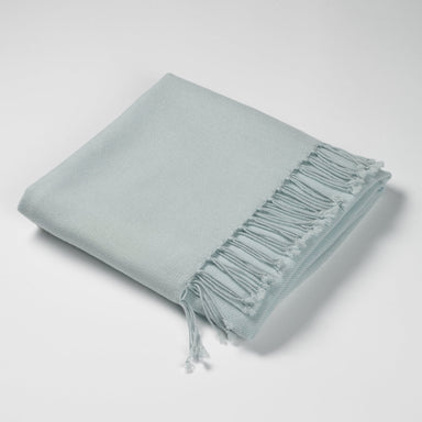 Luxury Cashmere & Lambswool Throw-Winter Sky | Nicholas Engert Interiors