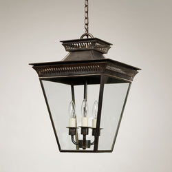 Mottisfont Porch Lantern-Bronze-Small