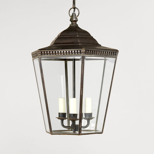 Georgian Porch Lantern-Bronze