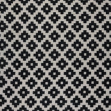 : Geometric Print Fabric - Falmouth 49/011 Black Magic