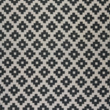 : Geometric Print Fabric - Falmouth 49/044 Swiss Grey