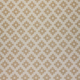 : Geometric Print Fabric - Falmouth 49/049 Oatmeal Two
