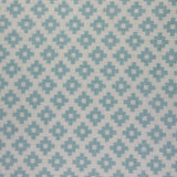 : Geometric Print Fabric - Falmouth 49/054 Duck Egg