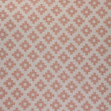 : Geometric Print Fabric - Falmouth 49/055 Powder Pink