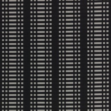 Nereus Contract Furnishing Fabric - Black | Nicholas Engert Interiors