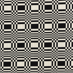 Cotton Furnishing Fabric Doris - Black