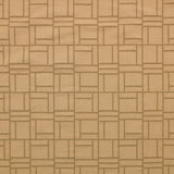 : Woven Jacquard Fabric-Piazza-Light Gold