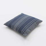 Luxury Silk, Linen and Cotton Cushions : Luxury Cotton Cushion - Helios from Johanna Gullichsen - Dark Blue