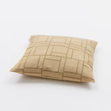 : Luxury Linen & Silk Cushion - Piazza from Johanna Gullichsen - Light Gold