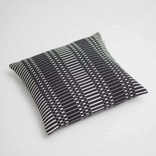Luxury Cotton Cushion - Helios from Johanna Gullichsen - Black