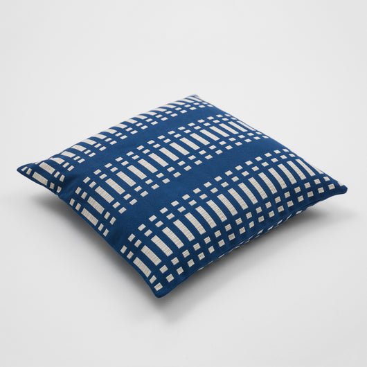 Luxury Cotton Cushion - Nereus from Johanna Gullichsen - Blue