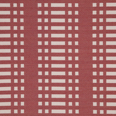 Nereus Contract Furnishing Fabric - Red | Nicholas Engert Interiors