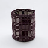 : Fabric Basket - Helios Dark Bordeaux