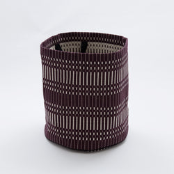Fabric Basket - Helios Dark Bordeaux