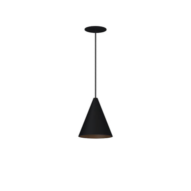 Pendant LED Cone Light-Black