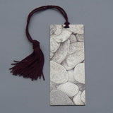 Decorative Accessories : Silver Book Mark - Stones