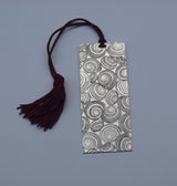 : Silver Book Mark - Shells