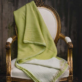 : Lime Washed Wool Throw | Nicholas Engert Interiors
