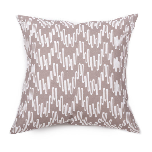 Wavelength Cushion - Vervain/White