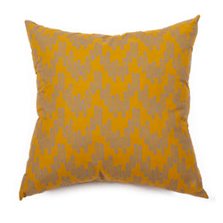 Wavelength Cushion - Curry/Vervain