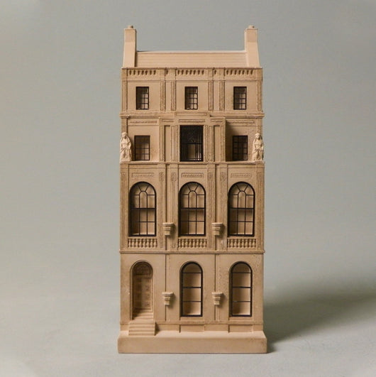 decorative architectural model Soane house