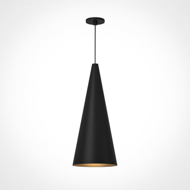 Pendant LED Cone Light-Large-Black
