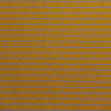 : Geometric Print Fabric - Brick P101-208 Curry Vervain