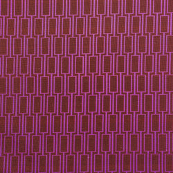 Geometric Print Fabric - Lattice P104/211 Seaweed Bronze/Lilac Time