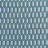 : Geometric Print Fabric - Lattice P104/214 Vervain/Green Beret