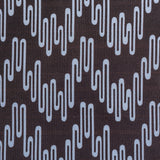 : Geometric Print Fabric - Wavelength P102/206 Poppyseed/Vervain